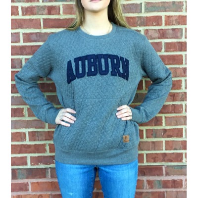 AU Arched Quilted Crew