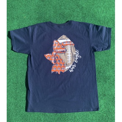 Navy Bow Youth Shirt