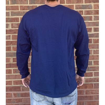 L/S Navy Tiger Claw