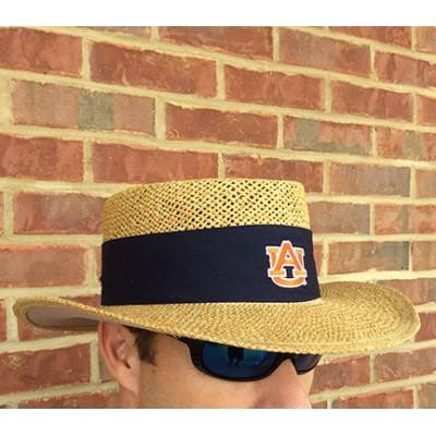 Auburn Coach Straw Hat