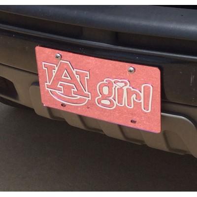 Auburn Car Tag Style 7
