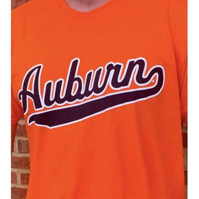 AU Script Orange Shirt