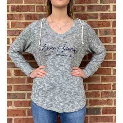 AU Grey Hoodie Shirt