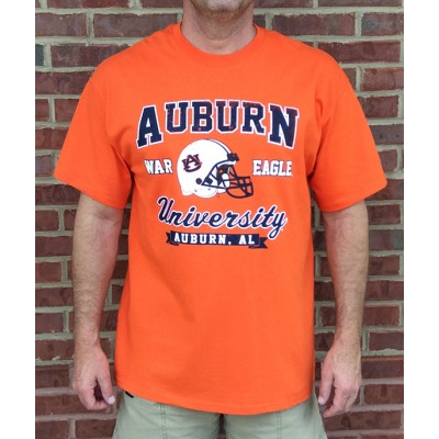AU Helmet Orange Shirt