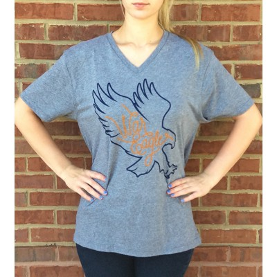 AU Eagle Grey V-Neck
