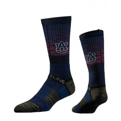Auburn Tiger Stripe Sock