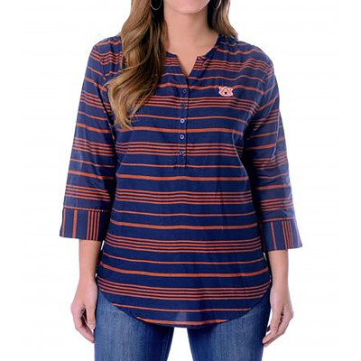 Auburn Stripe Tunic Top