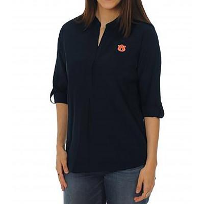 Auburn Navy Tunic Top