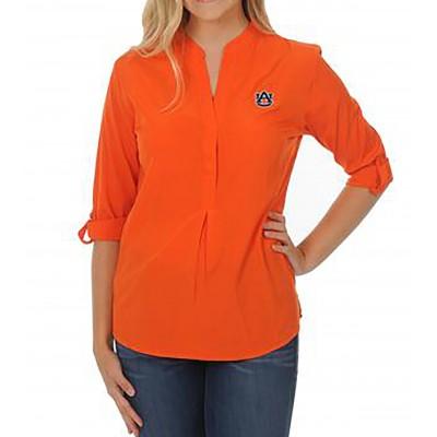 Auburn Orange Tunic Top
