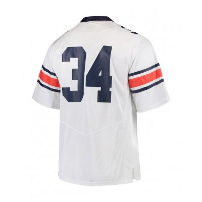 #34 Youth White Jersey