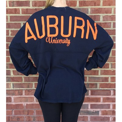 Auburn Navy Spirit Jersey