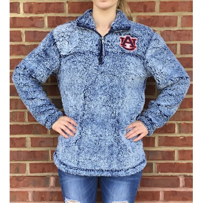 AU Navy Sherpa Fleece
