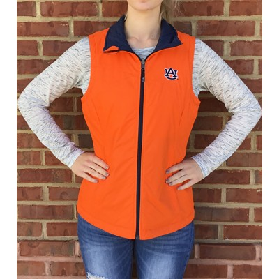 Orange Navy Reversible Vest