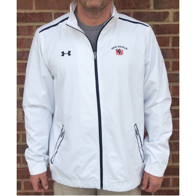 Auburn White Coaches Jacket