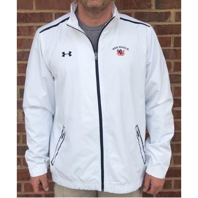 Auburn White Coaches Jacket