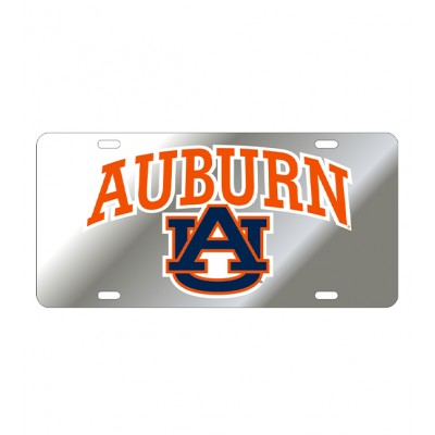 AU Mirrored Car Tag Style 4