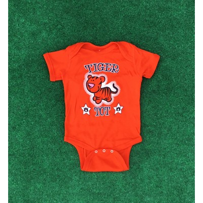 Tiger Tot Orange Onesie