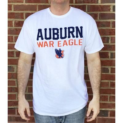 Auburn White Marble Shirt