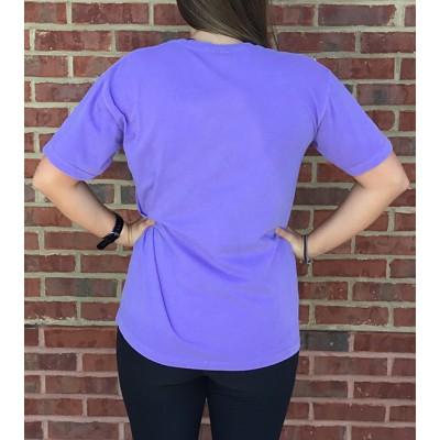 Auburn Violet Comfort Colors