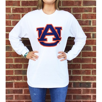 AU White Patch Top