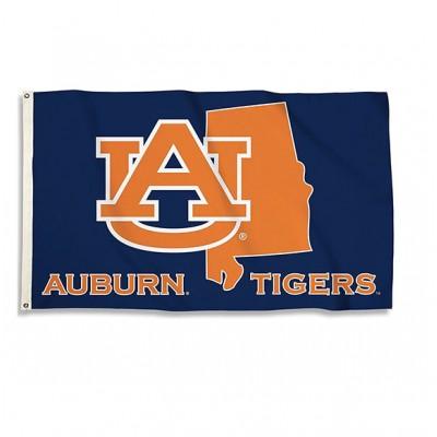 State Auburn 3'x5' Flag