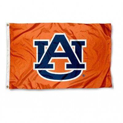 AU Orange 3'x5' Flag