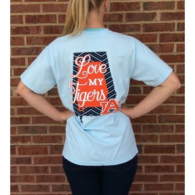 Love Tigers Comfort Colors