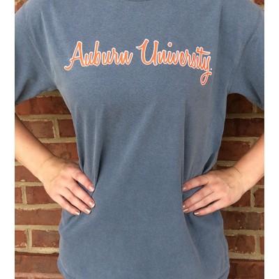 Auburn Script Comfort Colors