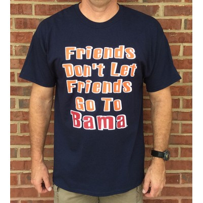 Friends Don't Navy Shirt