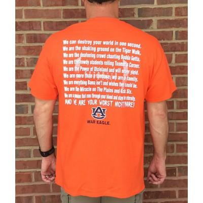 AU Nightmare Orange Shirt
