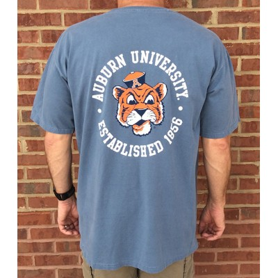 Aubie Navy Comfort Colors