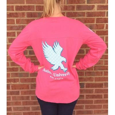 Pink Auburn Big Shirt