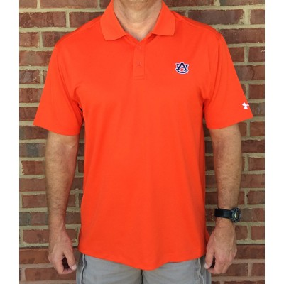 AU Orange Drifit Polo