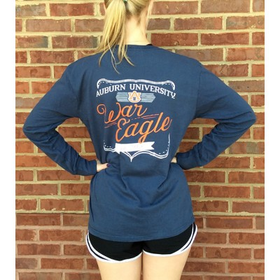 L/S Navy Comfort Colors