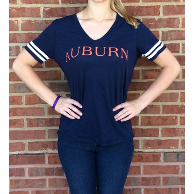 Seaside Navy Slub Tee