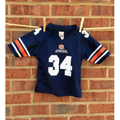 #34 Toddlers Auburn Jersey