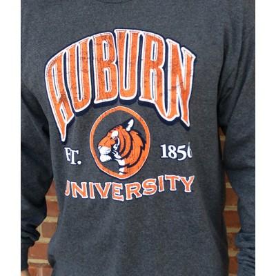 L/S Charcoal Tiger Shirt