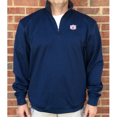 Oxford Navy Quarter Zip