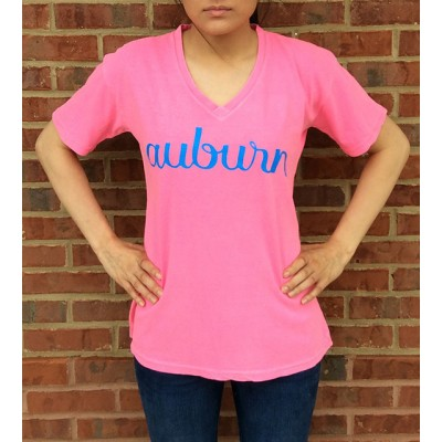 AU Pink Comfort Colors