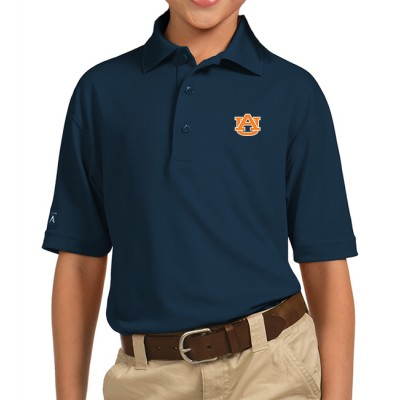 Auburn Navy Youth Polo