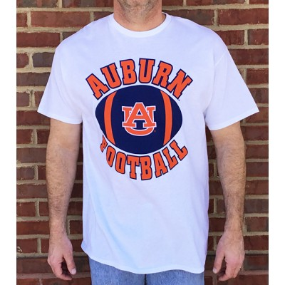 AU Football White Shirt