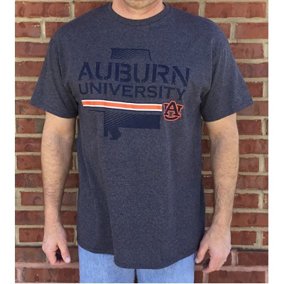 Auburn Nation Grey Shirt