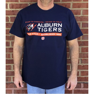 Tiger Claw Navy Shirt