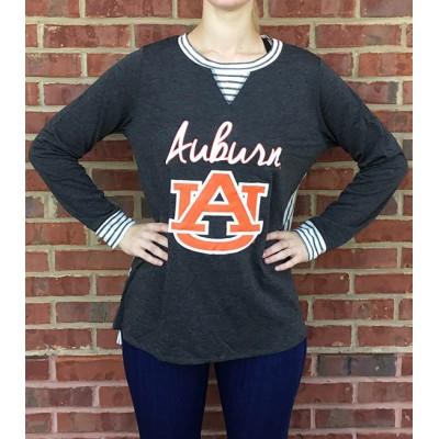 Auburn Puff Print Tunic