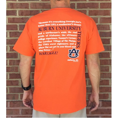 AU Orange Rival Shirt