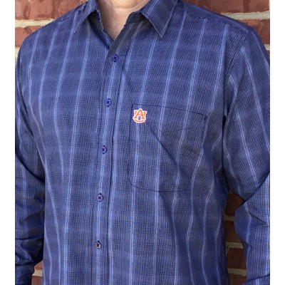 Campus Navy Dress Shirt