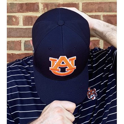 Navy Tigers Fitted Hat