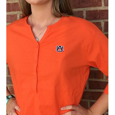 AU Dot Orange Top
