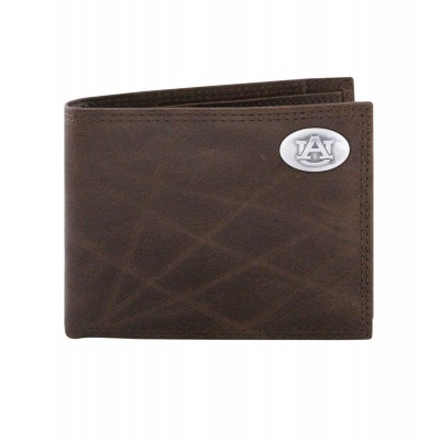 AU Brown Bi-Fold Wallet