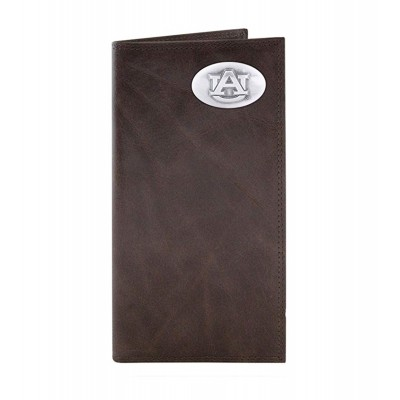 AU Brown Tall Wallet